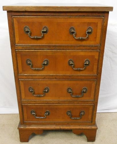 Small Yew Chest of Drawers